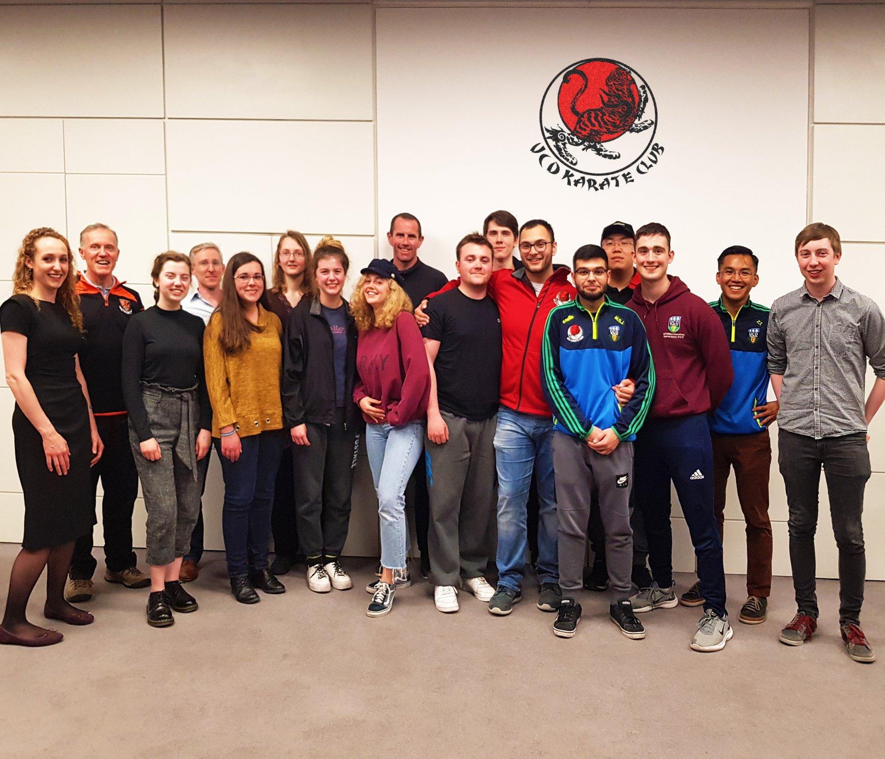 2019/2020 UCD Karate Committee