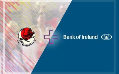Bank of Ireland is the new Title Sponsor of UCD Karate!