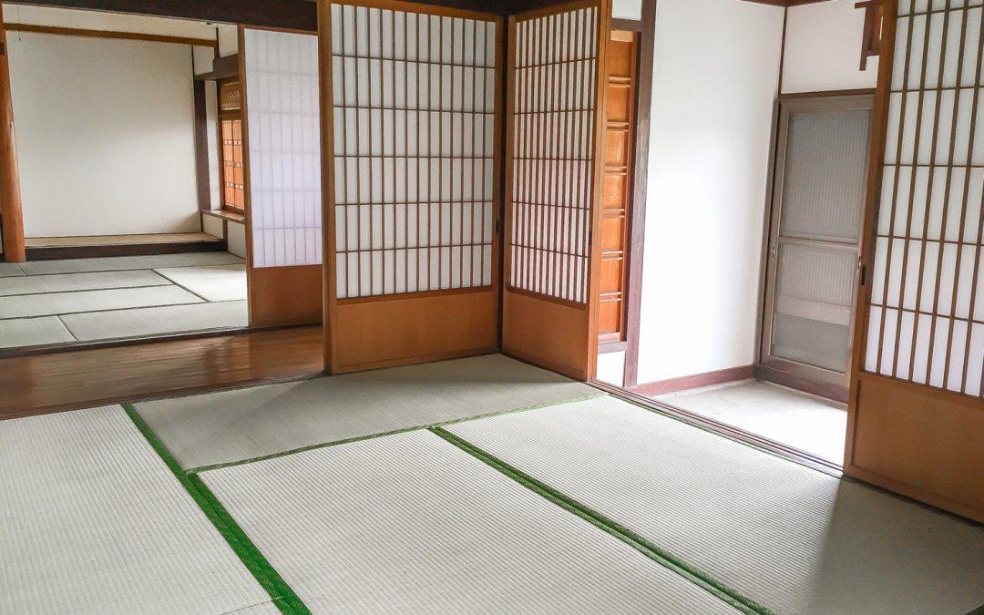 Japanese home dojo